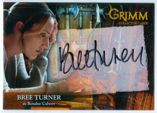 Bree Turner autograph